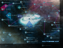 The Multiverse Map 1 by netro32