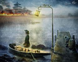 Under the Cover of the Rain by Josiane-Rey