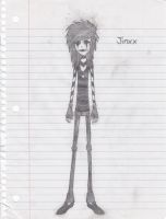 Cartoon Jinxx by heavy-metal-chick