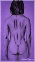 The Female Head, Back and Buttocks by RicGrayDesign