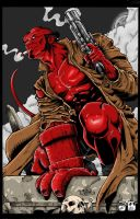 Hellboy by richyunspoken
