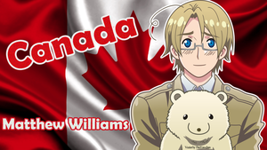 [APH] Canada (Matthew Williams) Wallpaper by BunnyBeryl