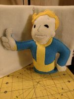 Vault Boy Plush from Fallout by JeffSproul