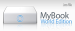 MyBook World Edition icon by falafelkiosken