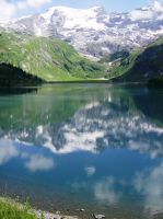 Reflection Mountains by mad2love