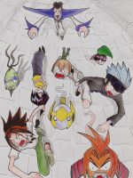 Shaman King by kiba-1986