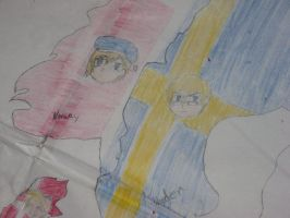 Close up on Norway and Sweden by Kage-Kyoodai