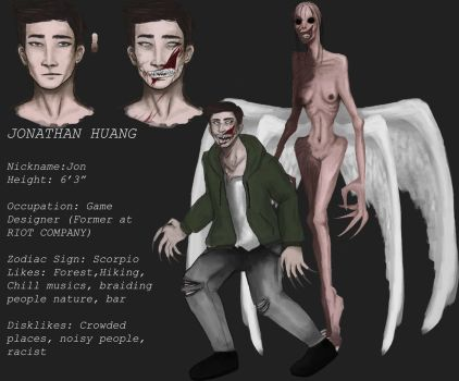 Jonathan Huang- Starved Angel Ref by Rozaleine