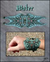 Elemental Bracelet - Water by Ellygator