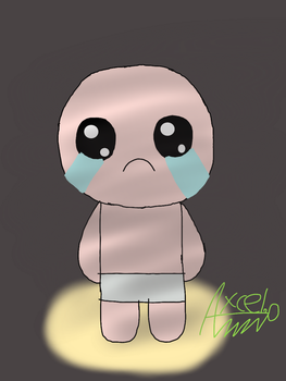 Isaac (the binding of isaac) by Axcelito02