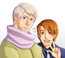 APH: Ivan and Feliciano by Shiraae
