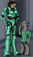 Father and Son by PhoenixTrooper