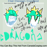 Dragon Hat by 4AllOfTheThingsImNot