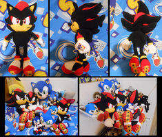 Shadow Plush_and collection by f-sonic
