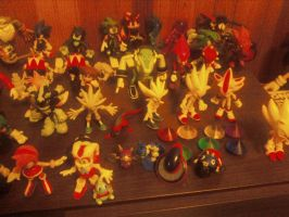My Sonic figure collection 2012 11 by SirCalistine