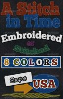 Embroidery Stitch Text Styles by PhotoshopStyles