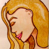 Profile in Colored Pencils by jdDoodles
