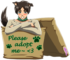 Inu!Eren in a box by 13Kitty95