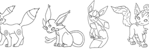 Pokemon- Eevee evols 2 by ImaginaryFox