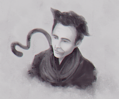 hiddlescat by tomoyoyo