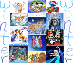 Disney winter mashup by queenashley455