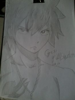 Gray Fullbuster !! by DollLouise