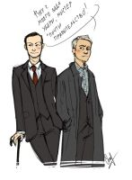 Mystrade by LiaBatman