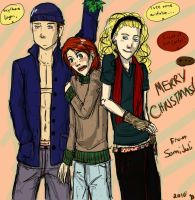 Chirstmas Doodle::FD by Somatra101