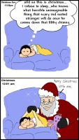 Christmas Eve- Baby Titans by LibraryNinja