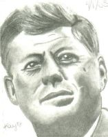 JFK Charcoal by TheSpyWhoLuvedMe