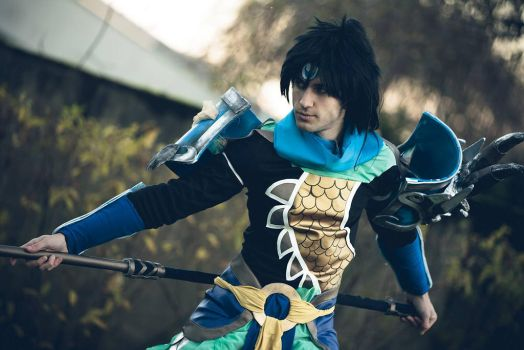 Warrior Kingdom Xin Zhao, Gotcha by SenninUzumaki