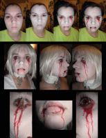 Hysteria Alice Make up Test by Adnarimification