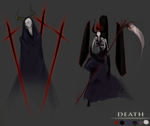 Death Concept Work by pyromaniac-chaos