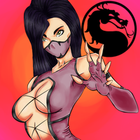 MORTAL KOMBATS- Mileena by monkeydonuts246