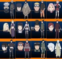 The Last Naruto Movie Characters by AlexTheViper