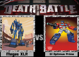 Death Battle: Megas XLR Vs G1 Optimus Prime by AVGNJr1985