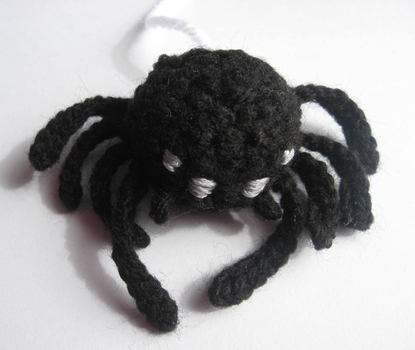 Amigurumi Spider by Amif
