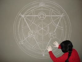 Transmutation circle by BanKia