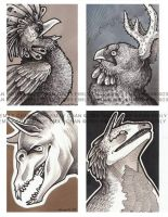 Creature Cards by SilentReaper