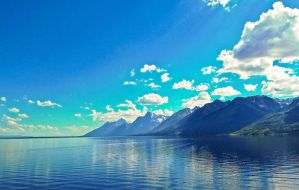 The Grand Tetons by KRHPhotography