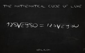 the mathematical code of love! by kralis-dm