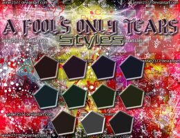 A Fool's Only Tears Styles by annie2377
