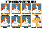 My Zombie Apocalypse Team 2 by RSA101
