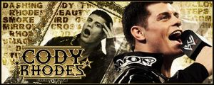 Cody Rhodes Signature by Cre5po