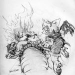 zombie rouge v. dry bowser by runde