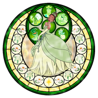 Kingdom Hearts Tiana by ArdennaOuvrard