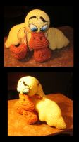 Crocheted Duckie by APickledPriest