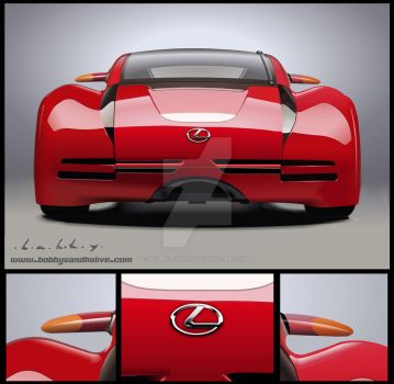 Lexus Minority Vector Portrait by Bobby-Sandhu