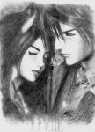 squall and rinoa by divino07