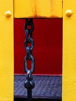 framed chain by wroquephotography